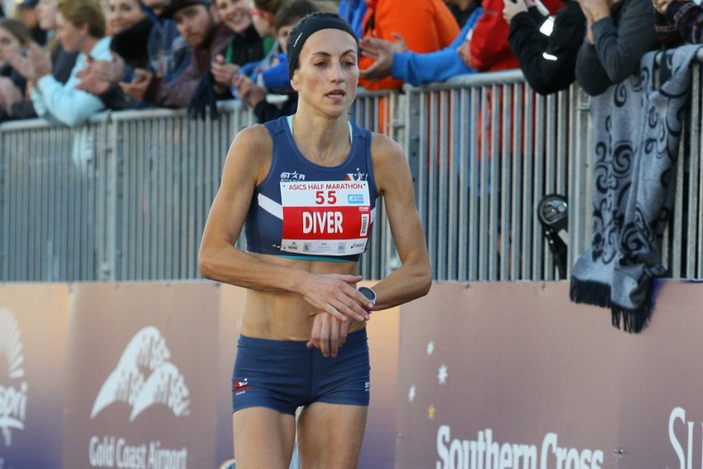 2016 ASICS Half Marathon third placegetter Sinead Diver will represent Australia in the marathon at the IAAF World Championships