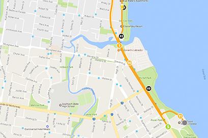 Course Maps - Gold Coast Marathon