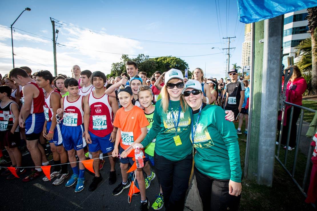 Volunteering at the Gold Coast Airport Marathon