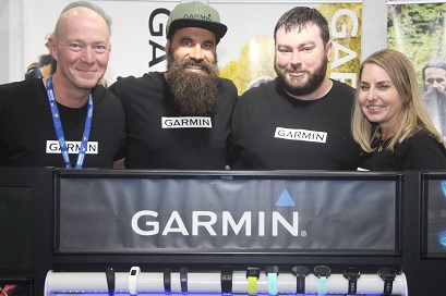Garmin employees at the ASICS Sport and Leisure Expo