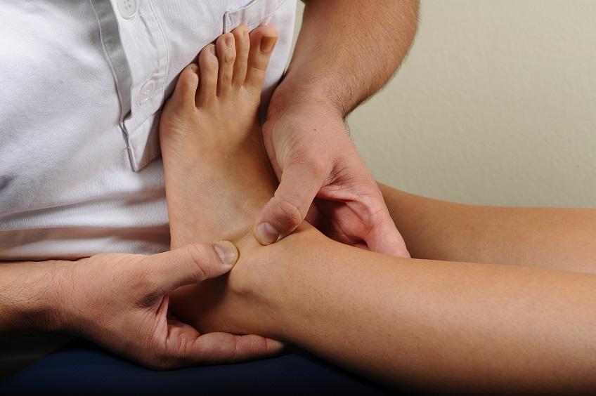 Fisioterapia al piede