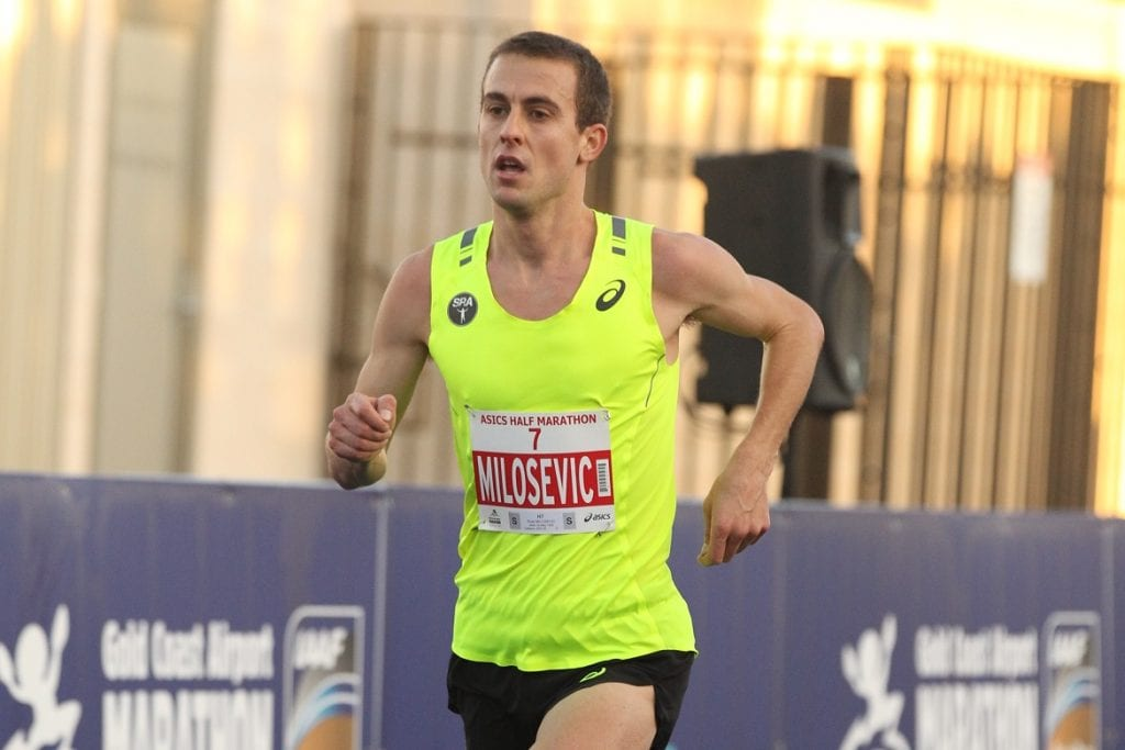 2014 ASICS Half Marathon second placegetter Brad Milosevic will represent Australia in the marathon at the IAAF World Championships