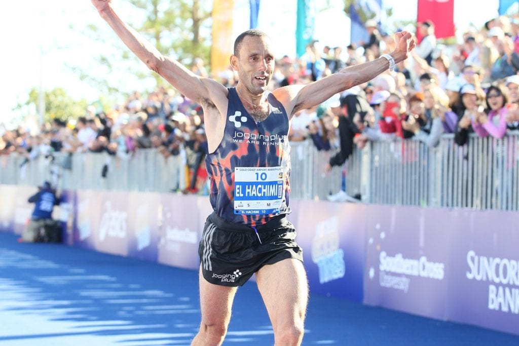2016 Gold Coast Airport Marathon third placegetter Abdelhadi El Hachimi will represent Belgium in the marathon at the IAAF World Championships