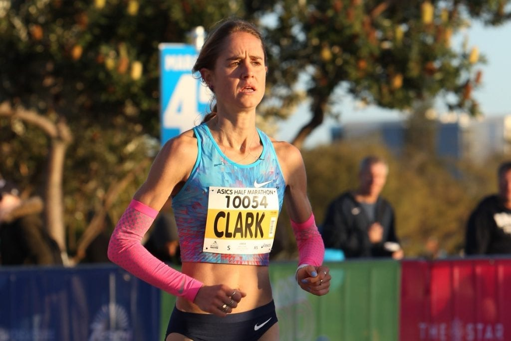 2017 ASICS Half Marathon second placegetter Milly Clark will represent Australia in the marathon at the IAAF World Championships